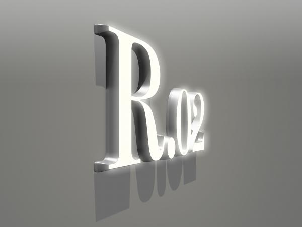 LEDアクリル文字