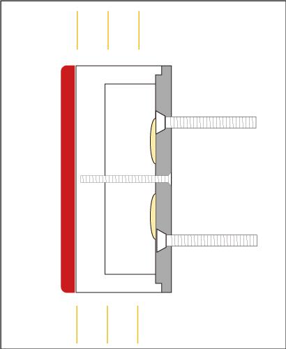 樹脂チャンネル文字側面発光