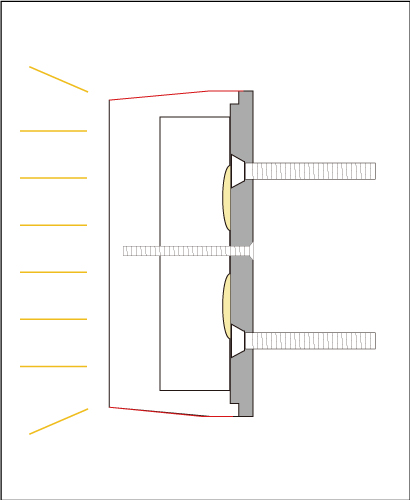 樹脂チャンネル文字正面発光