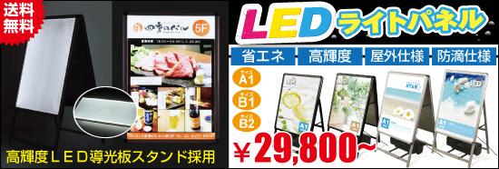 開閉式LEDパネルA型看板