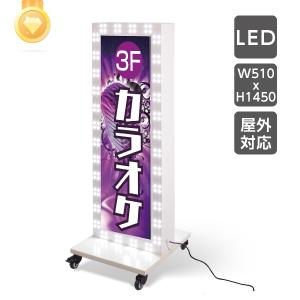 回転LEDモジュール電飾スタンド